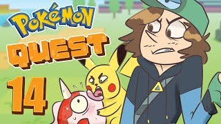 Pokemon Quest Gameplay - Collecting All 151 Pokemon   Part 14: Awful Teamwork