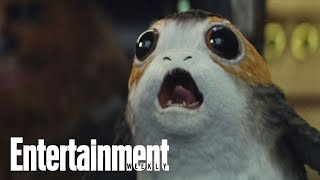 Are Star Wars: The Last Jedi's Porgs Scary? | Story Behind The Story | Entertainment Weekly