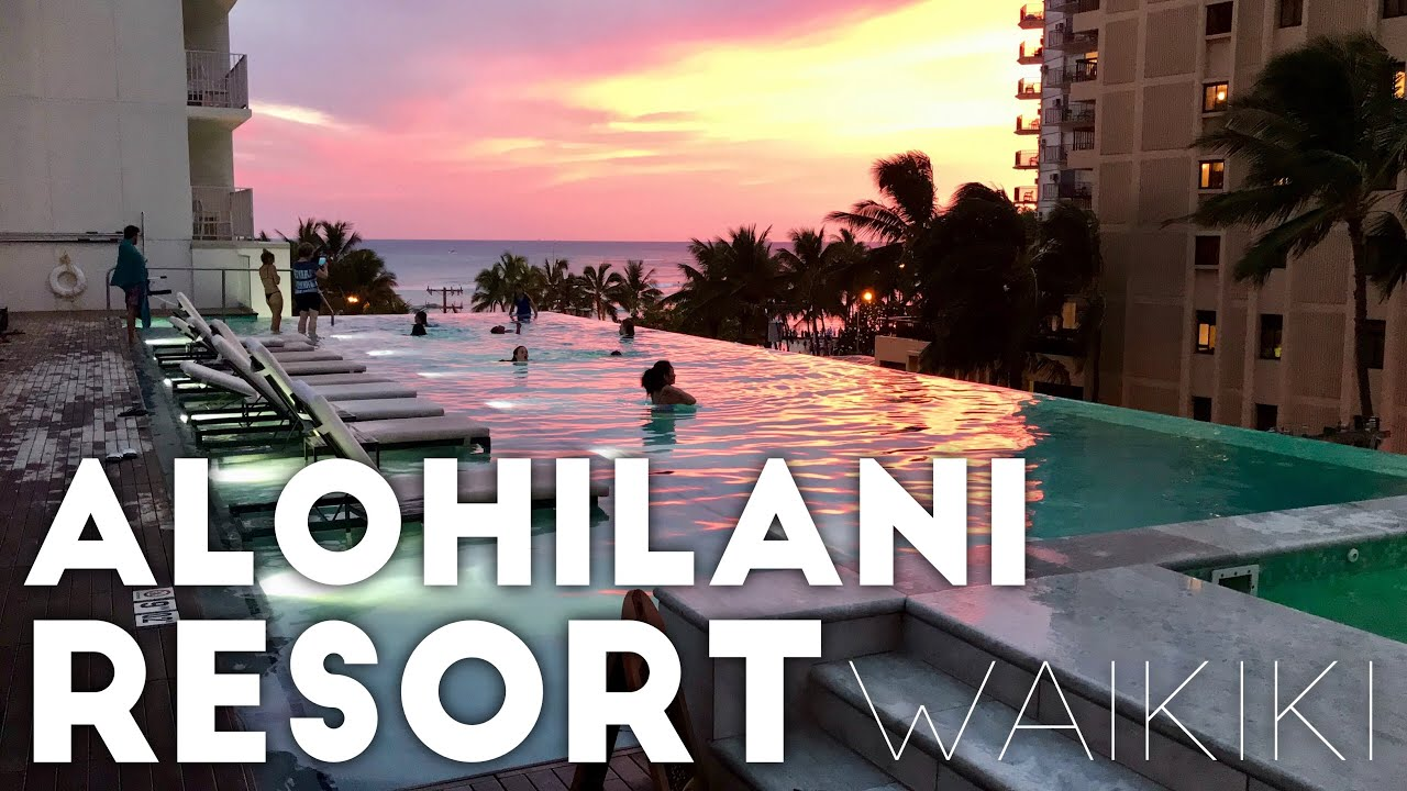 The Alohilani Resort Waikiki Beach In Honolulu Hawaii Review