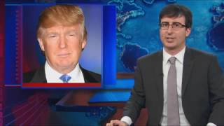 John Oliver Once Begged Donald Trump to Run for President