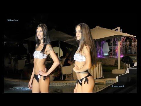 Miss Mondo Italia 2017 Sfilata in Bikini Villa Momi's prima parte
