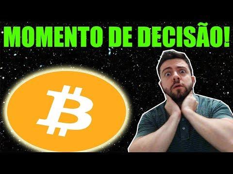 Bitcoin Em Momento De Decisão Nos Próximos Dias! Saiba O Motivo