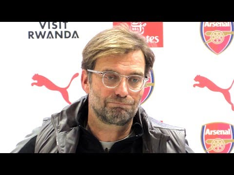 Arsenal 1-1 Liverpool - Jurgen Klopp Full Post Match Press Conference - Premier League