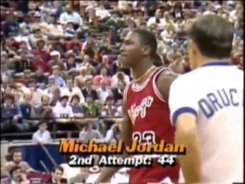 Michael Jordan - 1985 NBA Slam Dunk Contest (Runner-Up)