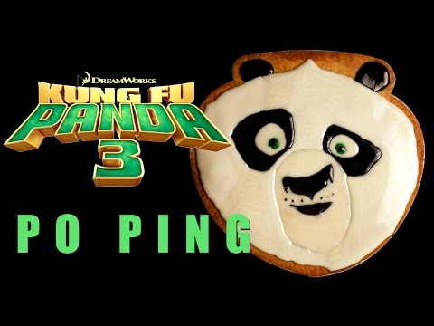 kung-fu-panda-master-po-ping-cookie-icing-/-cake-topper-how-to-tutorial