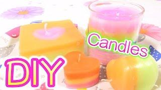 【100均♡DIY】手作りキャンドル♪3種類