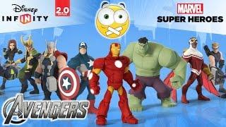 Disney Infinity 2.0 Marvel Super Heroes PC Gameplay 1 Sem Comentários (No Commentary) Dublado PT-BR