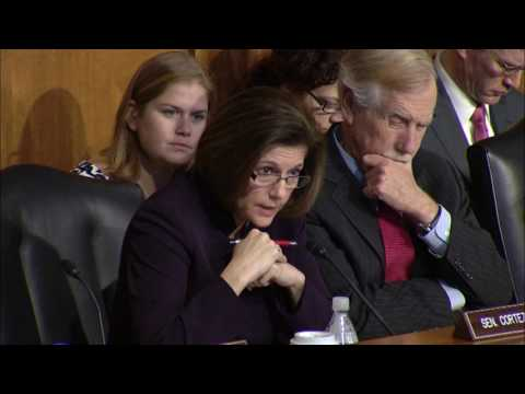 Senator Cortez Masto Questions Energy Secretary Nominee Rick Perry Part 1
