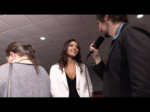 Jessica Lucas Talks Gotham (Tabitha Galavan) at Tribeca TV Festival Red Carpet
