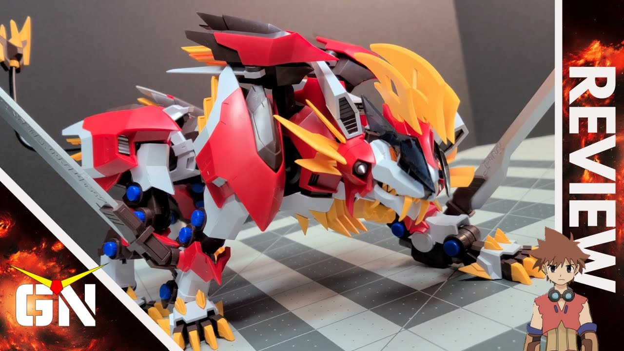 Hold My Beer Bandai & Koto, SuperNova Is Here - 1/72 Hayate Liger | REVIEW