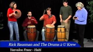 Yanvalou Franc Drum Rhythm