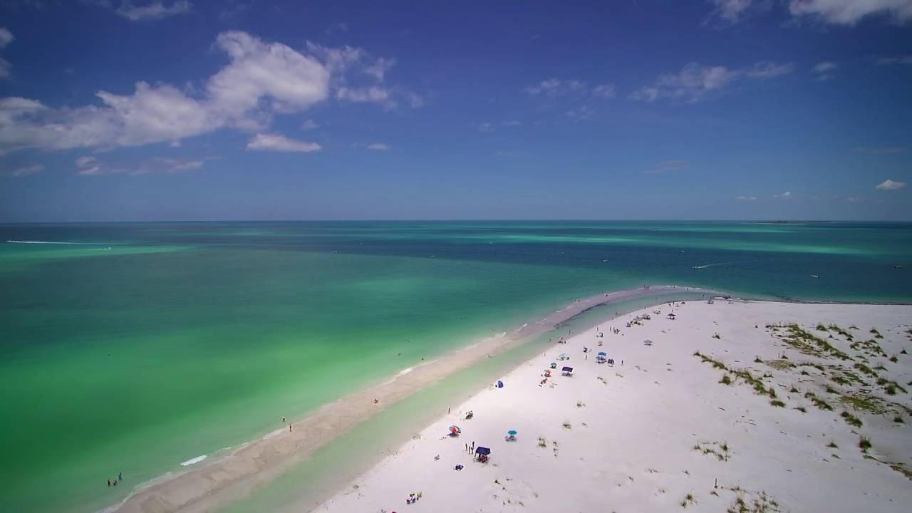 A Gorgeous Day At The Beach On Bean Point Anna Maria Island Florida You