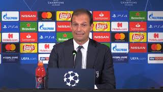 [Champions League, Juventus-Young Boys 3-0] Max Allegri, conferenza stampa post-match