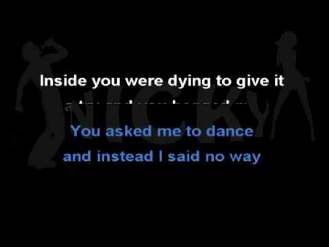 Demi Lovato - Trainwreck (Karaoke) On-Screen Lyrics