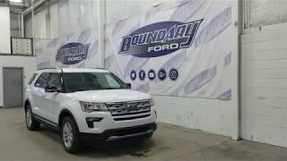 2018 Ford Explorer XLT 201A W/ 3.5L, Command Start Overview | Boundary Ford