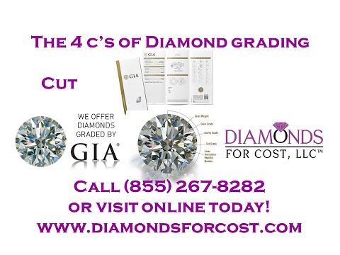 GIA 4 C's of Diamond Quality Cut Diamonds For Cost Oxford, AL