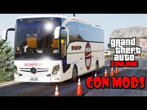 GTA 5 ONLINE CON MODS | CAMIONEROS DE MÉXICO EN LOS SANTOS | TheAxelGamer c/ Gaborust