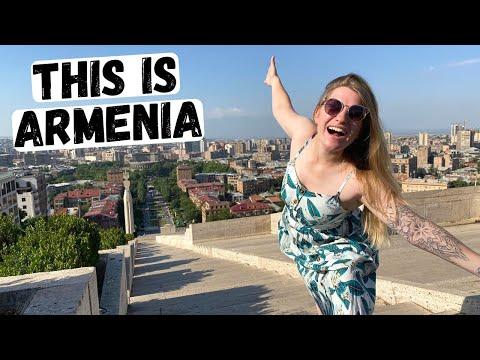 YEREVAN, ARMENIA! First impressions exploring the Armenian capital 🇦🇲