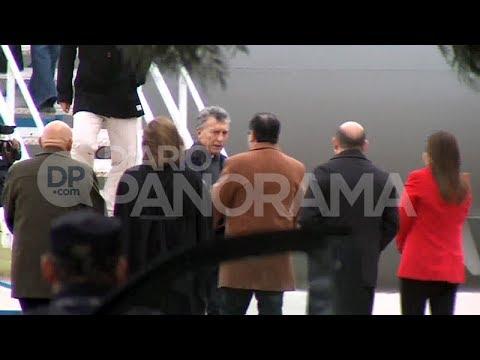 Llegada de Mauricio Macri a Santiago del Estero 1-06-2018