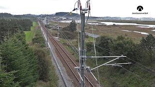 New power supply system for rail in Norway ready for hurricanes