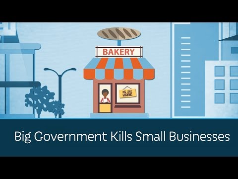 Big Government Kills Small Businesses
