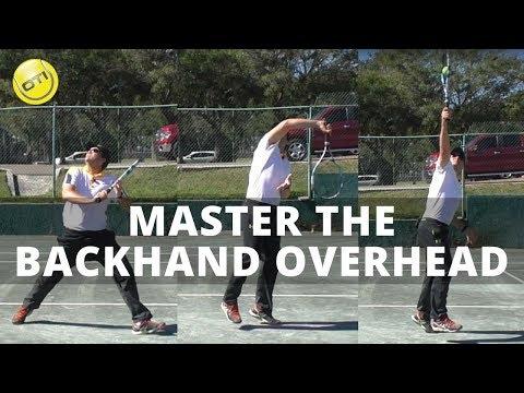 Tennis Tip: Master The Backhand Overhead