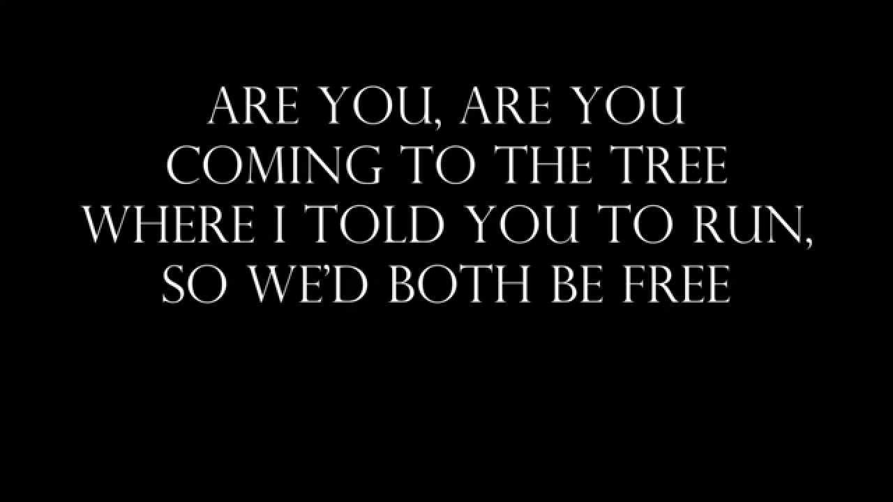 The Hanging Tree by Jennifer Lawrence (Lyrics) - YouTube