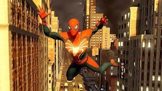Spider-Man PS4 Action & Free Roam Gameplay - The Amazing Spider-Man 2
