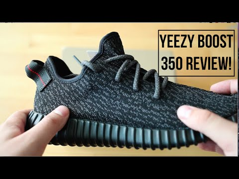 Unboxing The Kanye West Yeezy Boost Black Review
