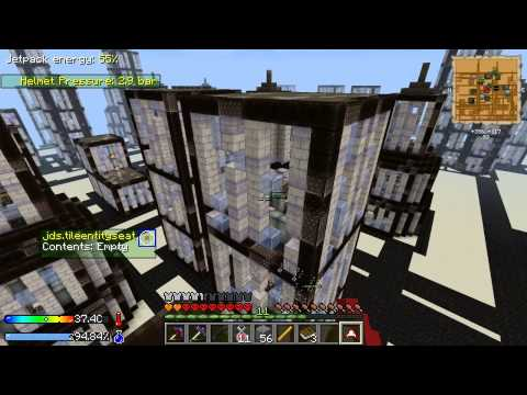 Minecraft - Crash Landing #12: City Raiding