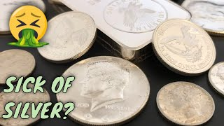 Are You Sick Of Silver?