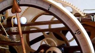 Steampunk Wooden Clock.