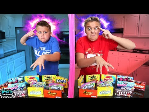 Twin Telepathy Challenge Kids Sour Candy Game Youtube