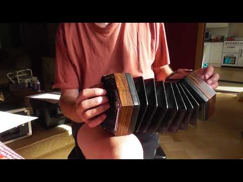 Go Tell Aunt Rhody CG and GD Anglo Concertina Free Video Tutorial - GREAT FOR BEGINNERS!