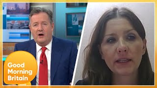 Piers Challenges Universities Minister on Why Students Aren't Getting Furlough Help | GMB