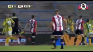 Gol de Aguirregaray - Aldosivi 0  Vs 1 Estudiantes- Fecha 18 - Liga Argentina - Previa del partido