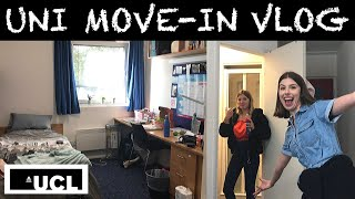 UNIVERSITY MOVE-IN VLOG: OFF TO UCL (with my sister)