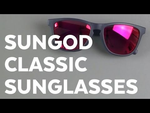 """SUNGOD Classic Sunglasses (limited """"going for gold"""" edition) review"""