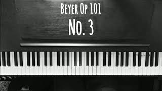 Beyer Op 101 no. 3 (played by Rizky Januardi)