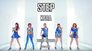 Step (스텝)- KARA (카라) || TRIPLE LAYERED (트리플 레이어)