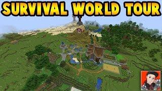 My New Minecraft Survival World I Made: Summer 2019 (Minecraft Survival World Tour)