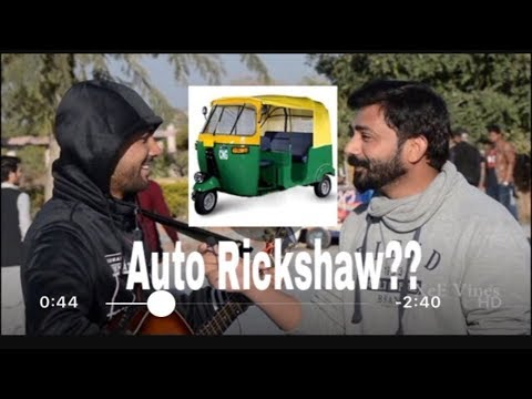 Asking People If You Have An Auto Rickshaw | XeE Vines