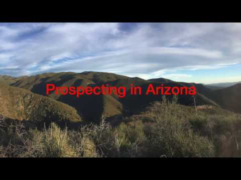Gold Prospectors Space Radio in Arizona on AMRA claims