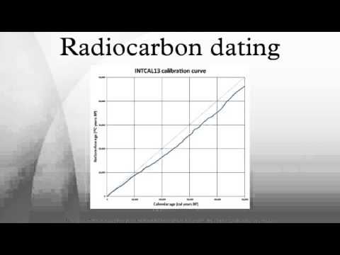 carbon-14 dating can be used to date