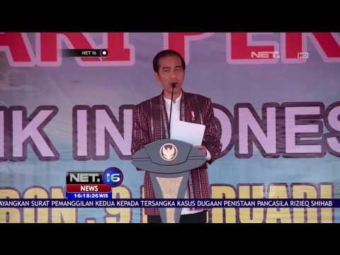 Pesan Presiden Joko Widodo di Peringatan Hari Pers Nasional - NET16