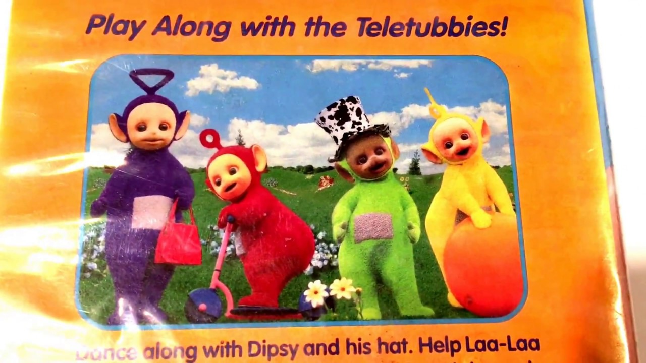 Teletubbies * Favorite Things * Animated Cartoon * VHS