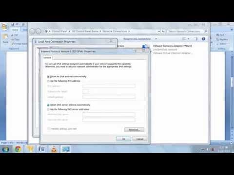 How to setup IPV6 static ip, gateway and DNS on Windows XP-Vista-7-8-10?