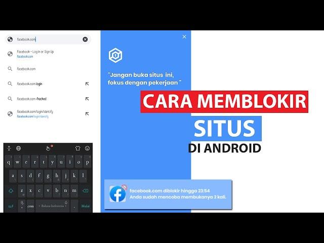 Cara Memblokir Situs Di Android