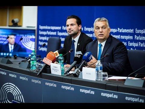 Orbán Viktor nemzetközi sajtótájékoztatója - ECHO TV