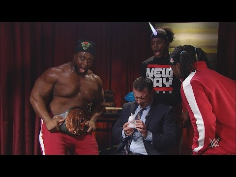 The New Day gives Michael Cole a job evaluation on the latest Weekly Interview